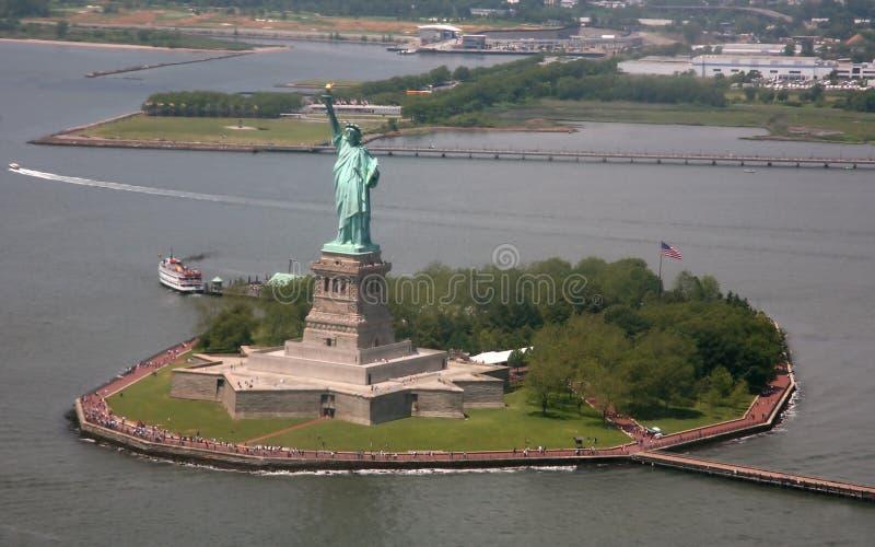 EUA, New York, estátua de liberdade foto de stock