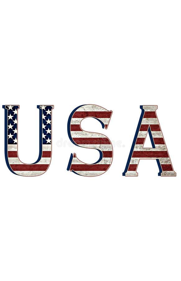 EUA ilustração royalty free