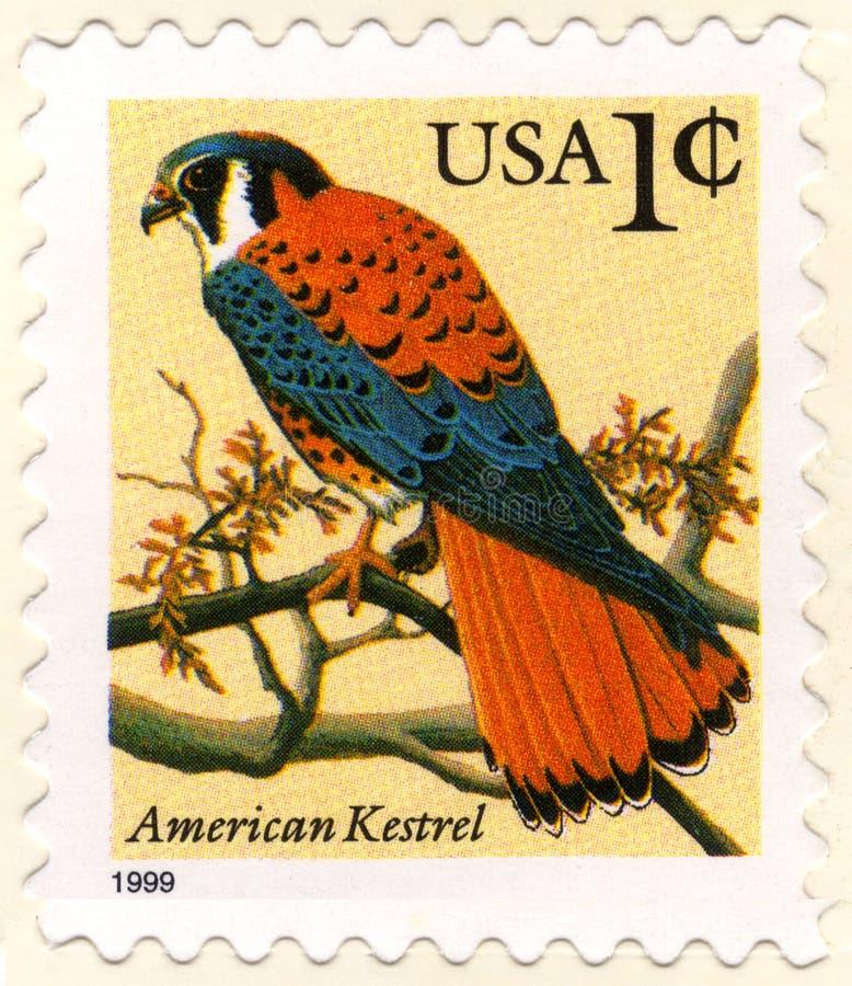EUA um selo de porte postal do centavo fotografia de stock royalty free