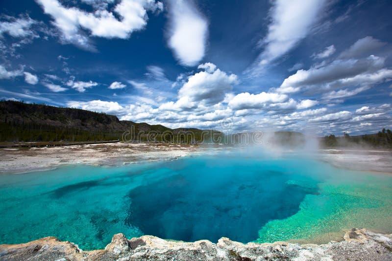 EUA - Yellowstone NP foto de stock