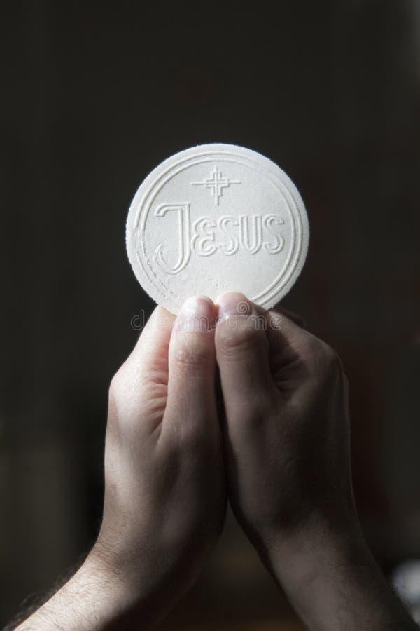 Eucaristia fotografia de stock