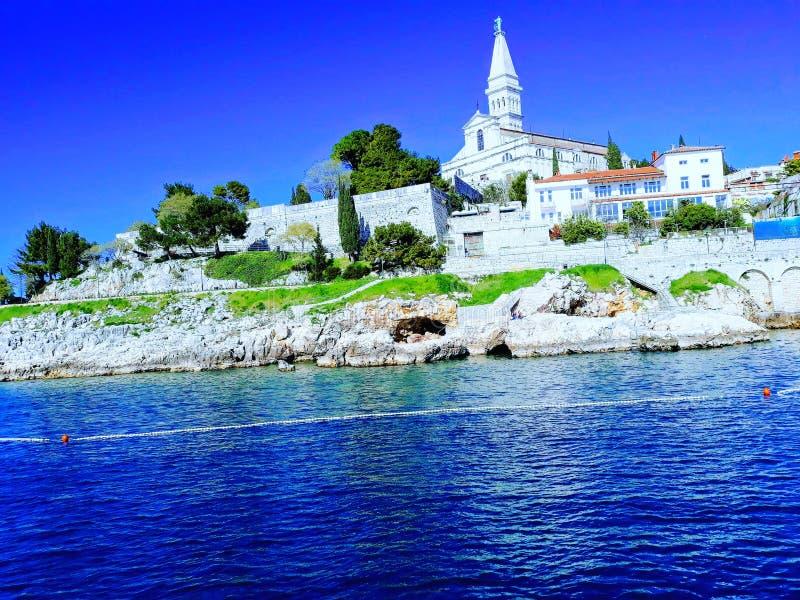 Eufrazije basílico, Porec, Croacia fotos de archivo
