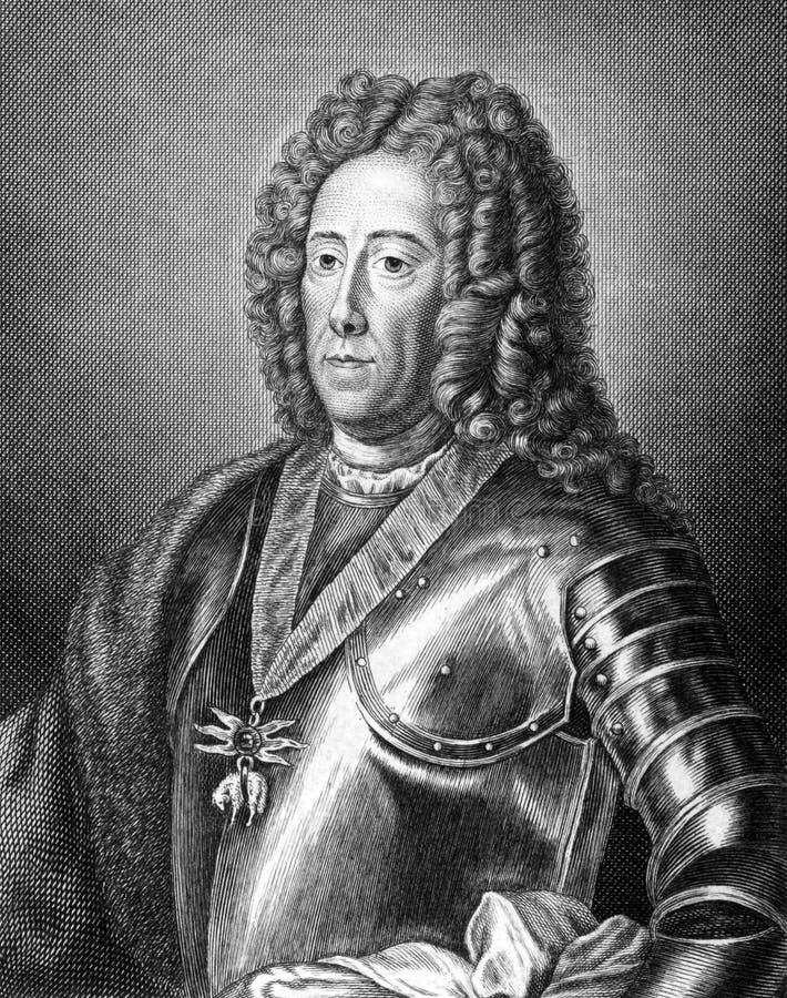 Eugen von Savoyen royaltyfri foto