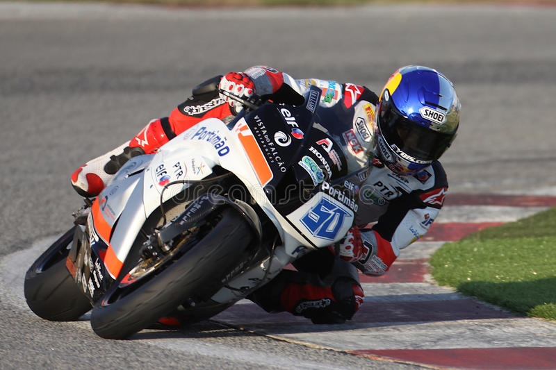 Eugene Laverty Winner Supersport Race Kyalami stock photos