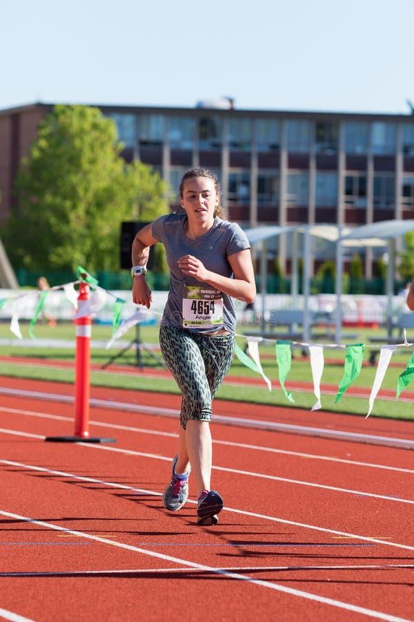 Eugene Marathon 2016 imagens de stock