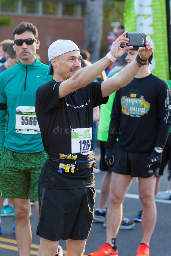 2017 Eugene Marathon Race stock image