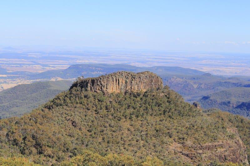 Euglah vaggar, nationalparken för Mt Kaputar, New South Wales, Australien royaltyfria foton