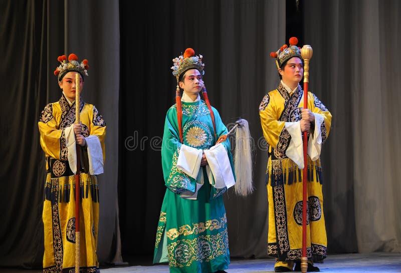Eunuch-Beijing Opera: Farewell to my concubine stock photos