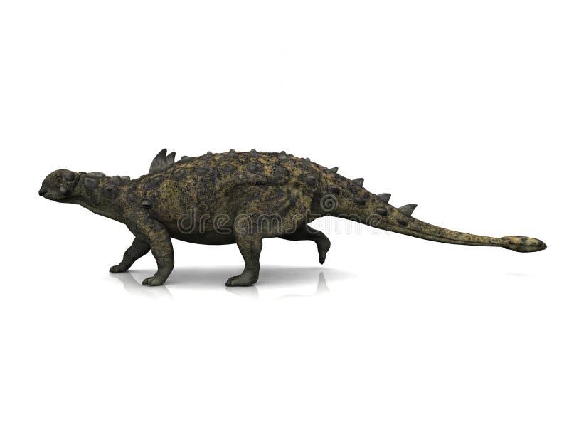 Download Euoplocephalus stock illustration. Image of reptile, prehistoric - 9265403