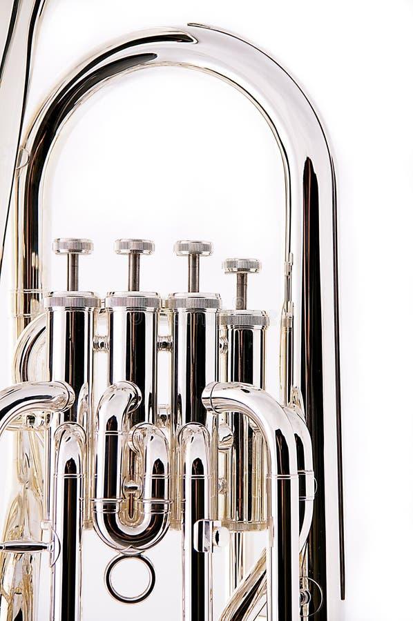 Euphonium bas de Tuba photographie stock libre de droits