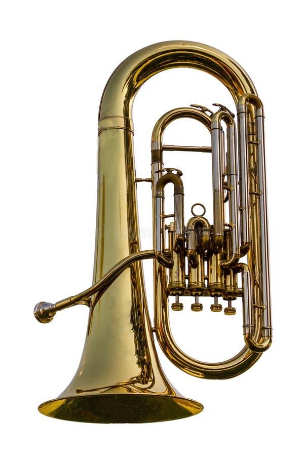 Euphonium, tuba image libre de droits