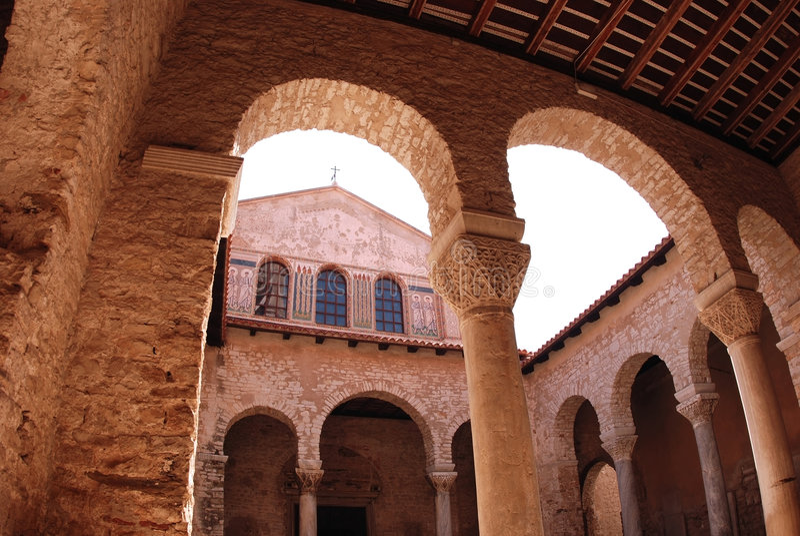 euphrasius bazyliki Croatia porec obrazy royalty free