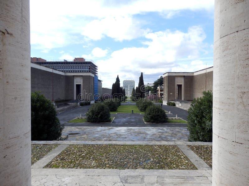 EUR Esposizione Universale Roma, Roma fotos de archivo