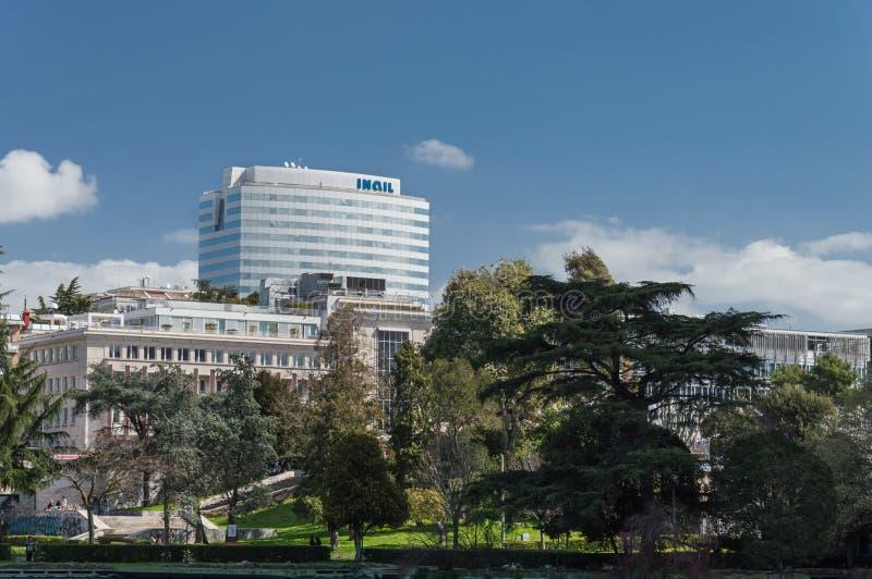 EUR Roma - Italia fotos de archivo
