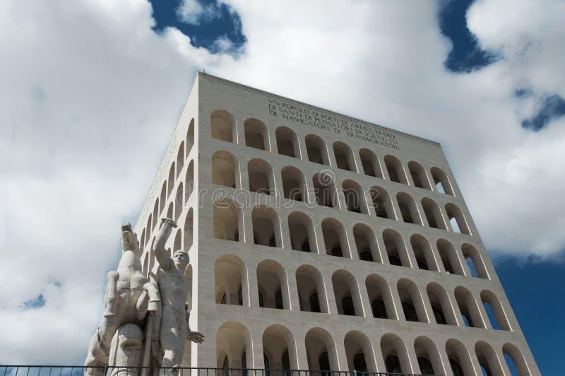 EUR Roma - Italia fotos de archivo libres de regalías