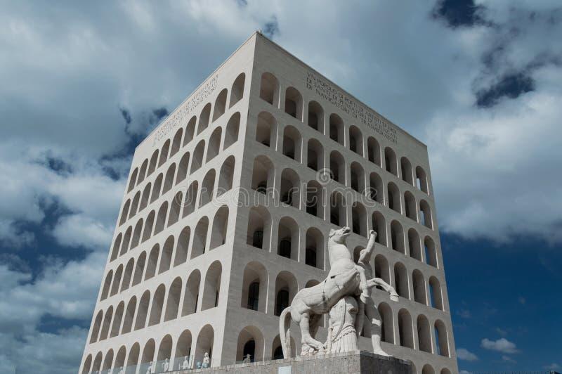 EUR Roma - Italia foto de archivo libre de regalías