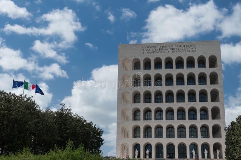 EUR Roma - Italia imágenes de archivo libres de regalías
