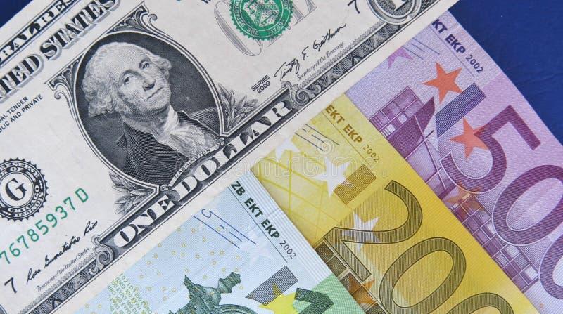 EUR/USD fotos de archivo