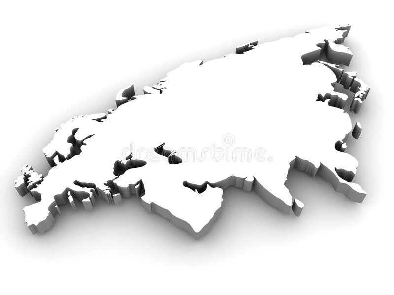 eurasia stock illustrationer