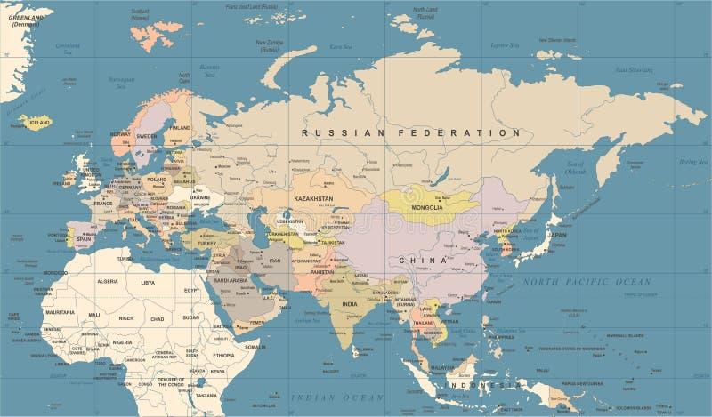 download eurasia europa russia china india indonesia thailand map vector ilration stock ilration ilration
