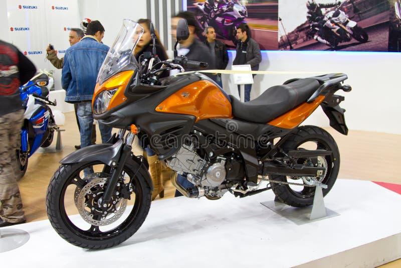Eurasia Moto Fiets Expo 2012 royalty-vrije stock afbeeldingen