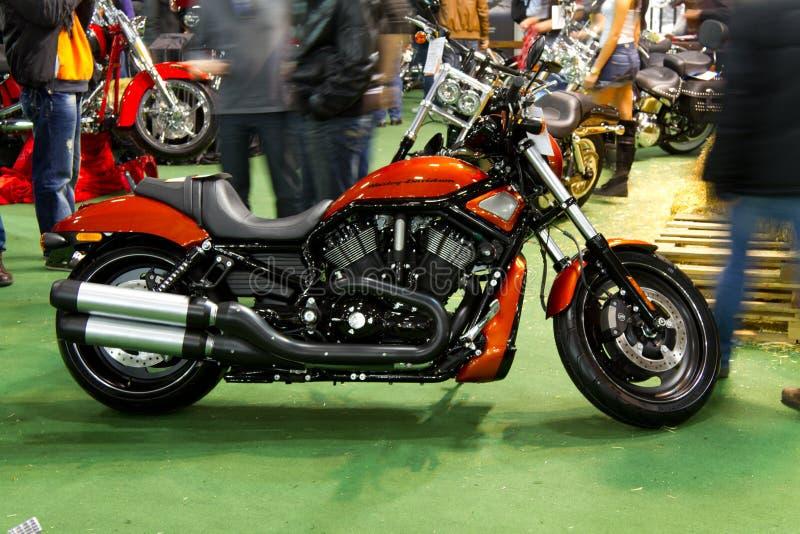 Eurasia Moto van Motoplus Fiets Expo royalty-vrije stock afbeeldingen