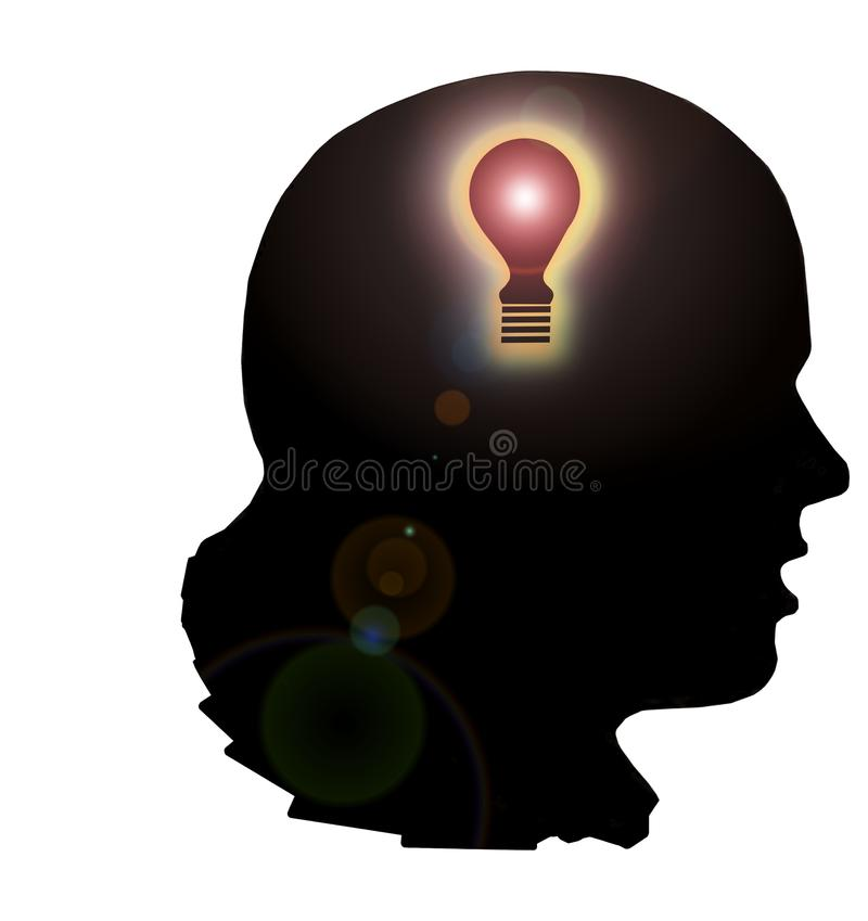 Download Eureka stock illustration. Image of consciousness, energy - 13428852