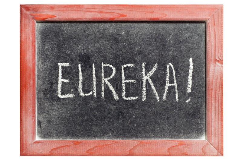 Eureka immagine stock libera da diritti