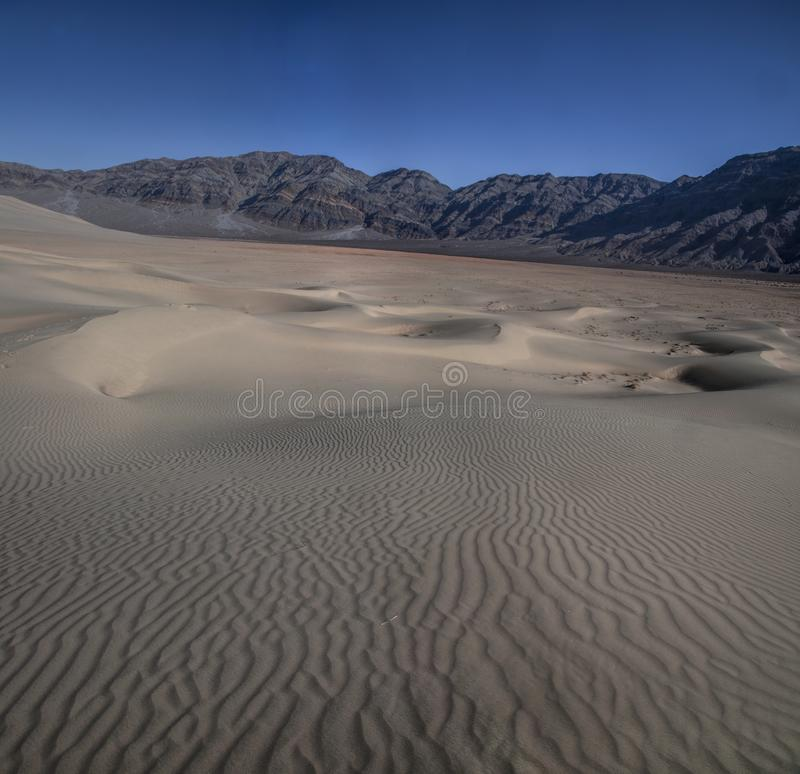 Eureka Dunes. At Death Valley National Park are amongst the highest in North America royalty free stock photo
