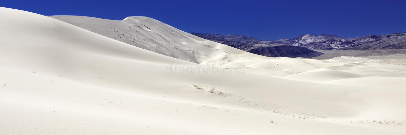 Eureka dyn, Death Valley, Kalifornien arkivfoto