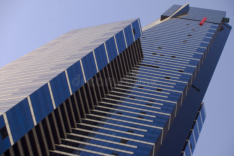 Eureka Tower. The Eureka Tower in Melbourne, Australia. Photo by Daniel Gregoric royalty free stock images