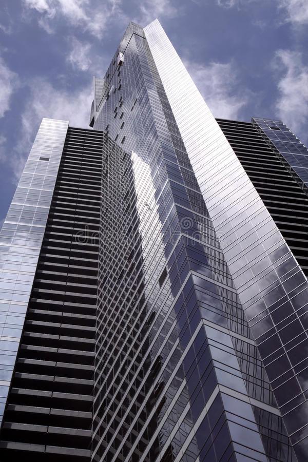 Eureka Tower. Melbourne. Eureka tower in the heart of Melbourne, Victoria, Australia royalty free stock photo
