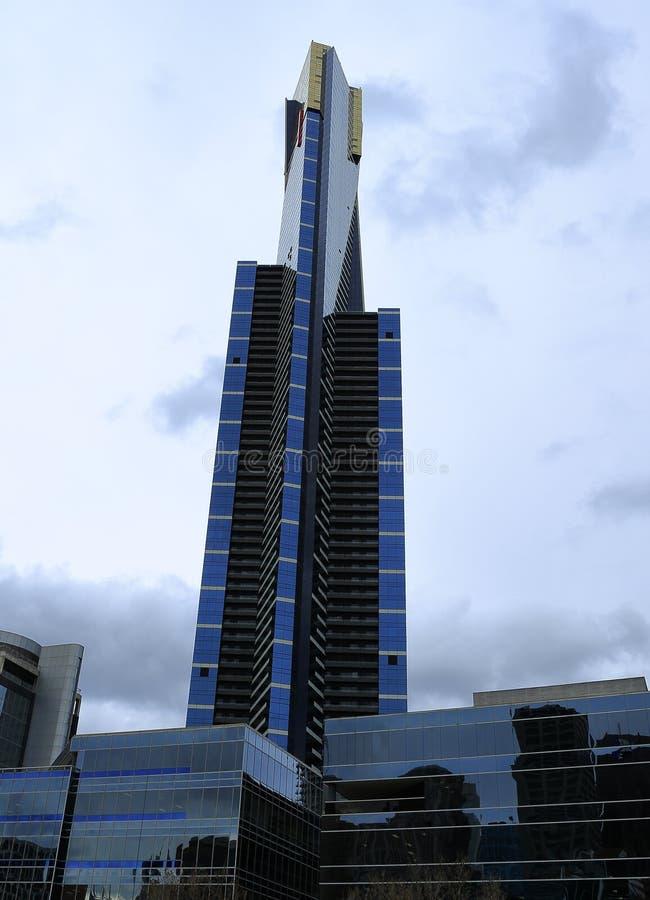 Eureka Tower, Melbourne stock photos