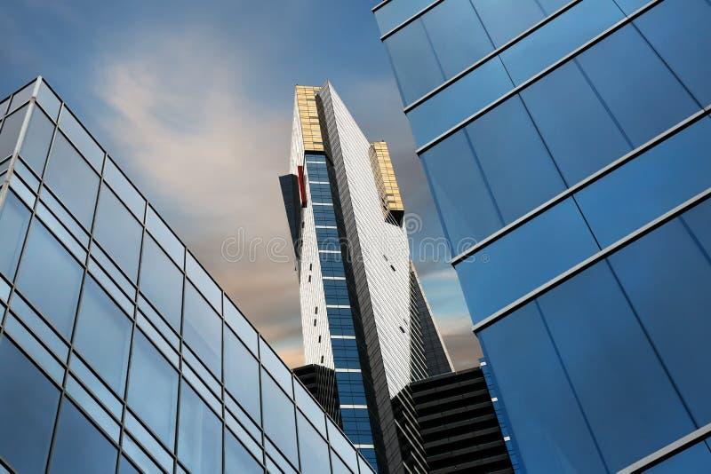 Eureka-Turm in Melbourne, Australien lizenzfreie stockbilder