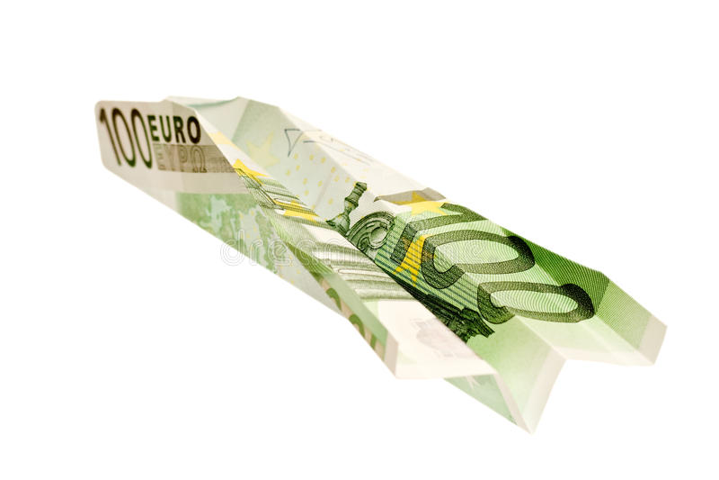 Euro 100 Arkivfoto