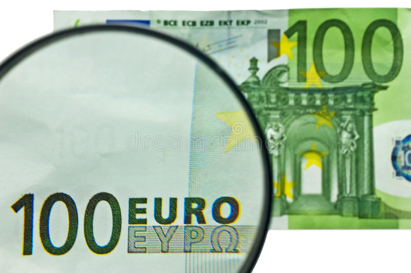 Euro 100 foto de stock royalty free