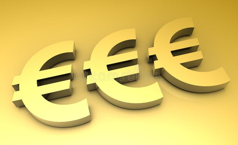 Euro royalty-vrije illustratie