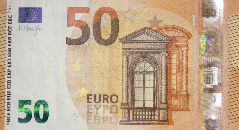 50 Euro lizenzfreie stockfotos