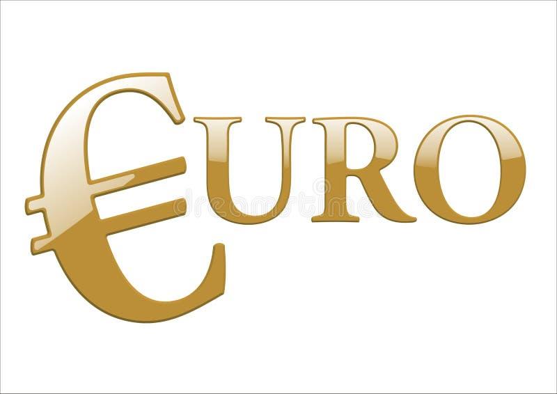 Download Euro- ilustração do vetor. Ilustração de brilhante, europa - 12813238