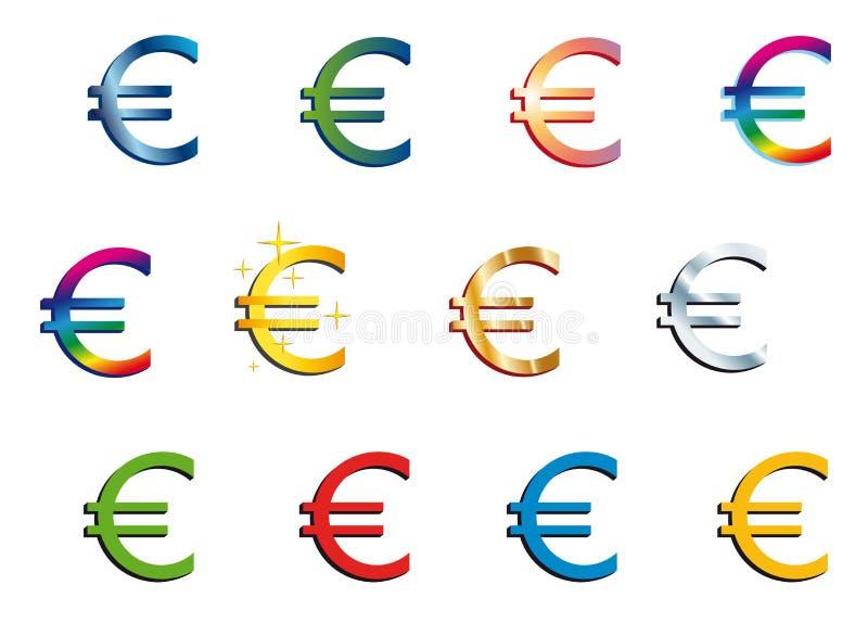 Euro illustration libre de droits