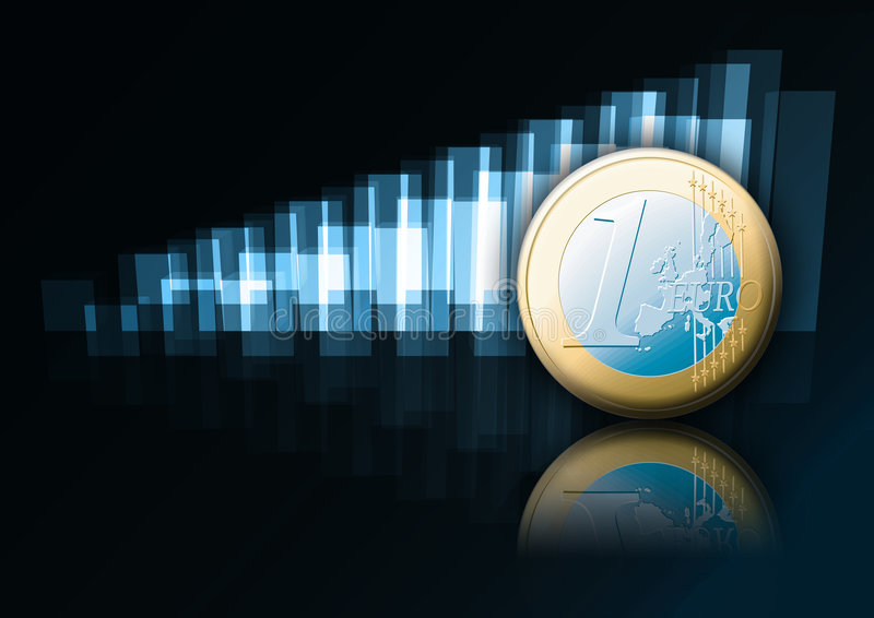 Euro stock illustration