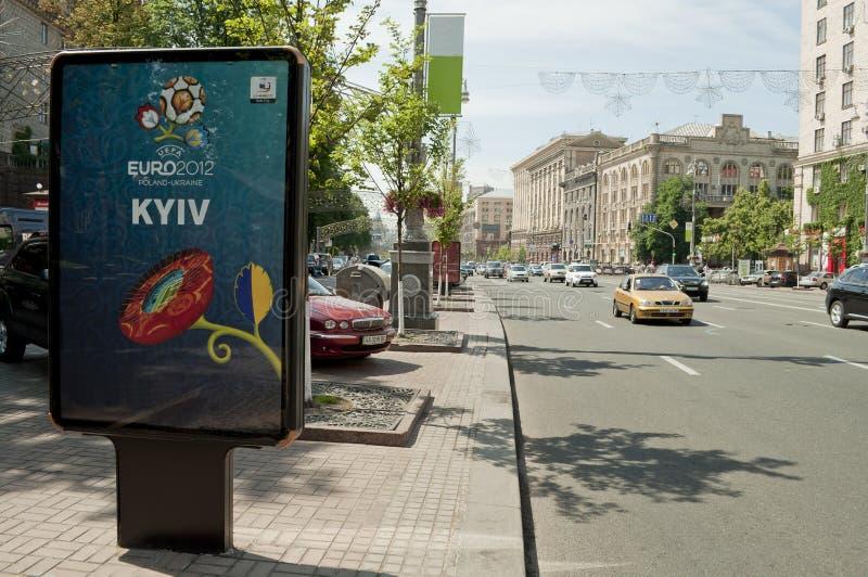 EURO 2012 immagini stock libere da diritti