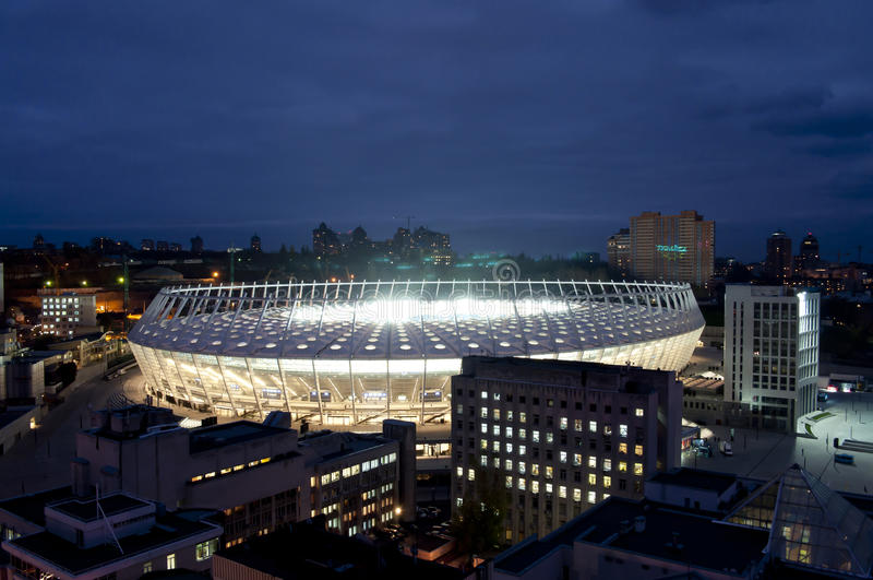 EURO 2012 royalty free stock photos