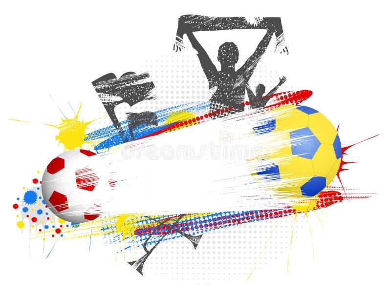 euro 2012 vektor illustrationer