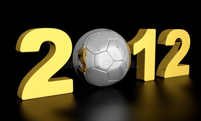 Euro 2012 fotos de archivo libres de regalías