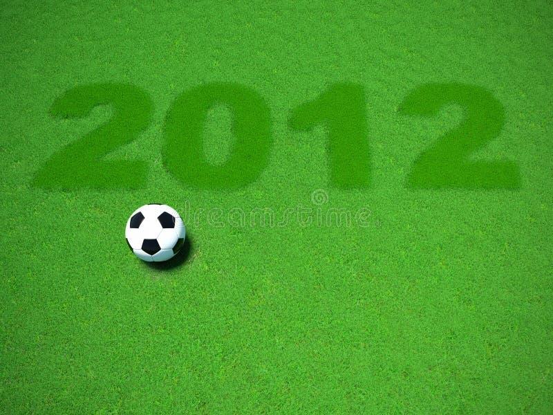 Euro 2012 imagen de archivo