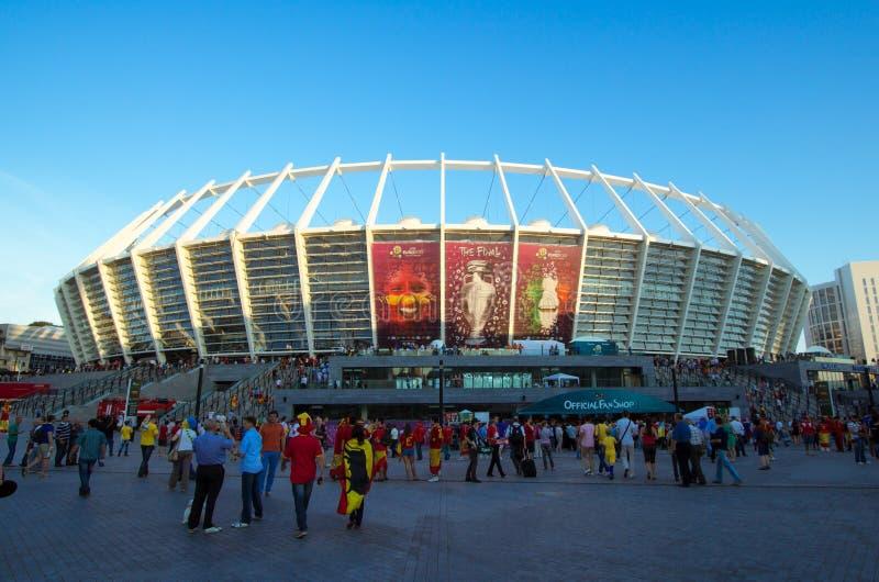 EURO 2012 stock foto's