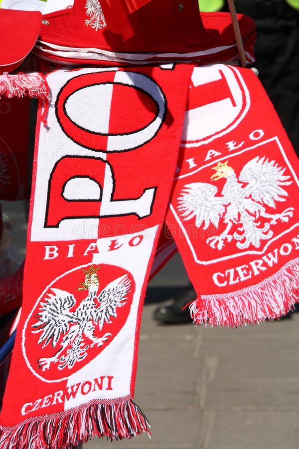 Download Euro 2012 fans insignia stock photo. Image of emblem - 25268658