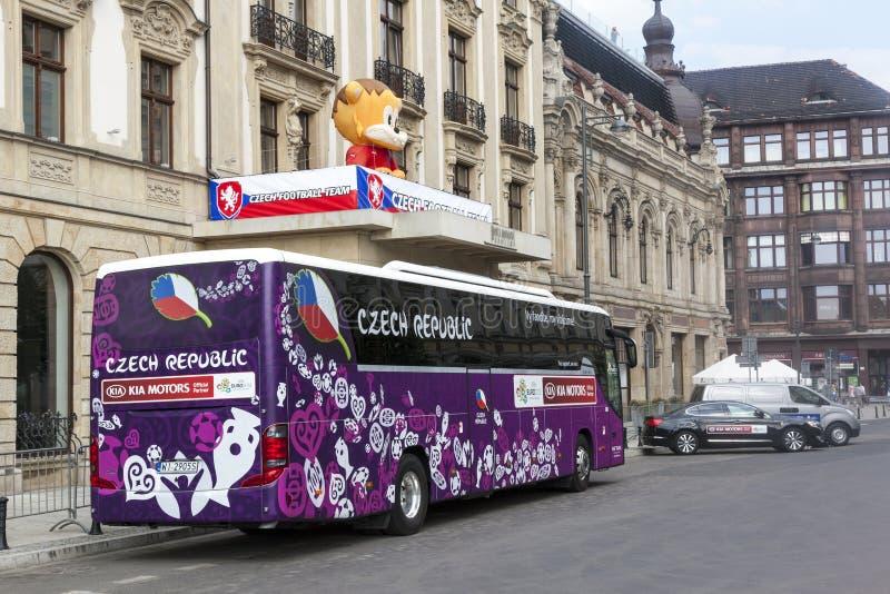 Euro 2012 - La Polonia immagine stock libera da diritti