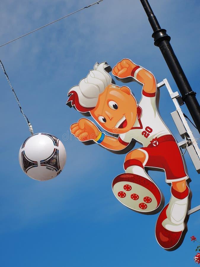 Euro 2012 Mascot Editorial Stock Image